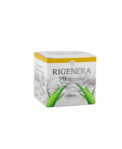 RIGENERA Gel Aloe E Argento-Oro Colloidale 150ml
