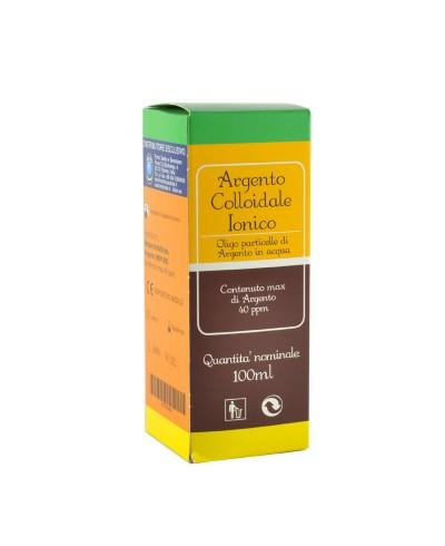 Argento Colloidale Ionico – 100 ml con contagocce e spray