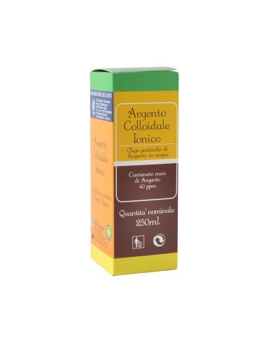 Argento Colloidale Ionico – 250 ml con contagocce