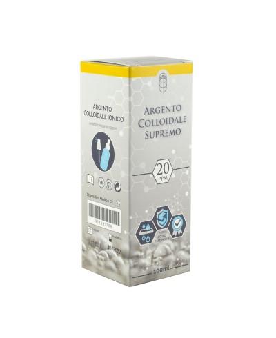 Argento Colloidale Ionico Supremo 20 ppm – 100 ml con contagocce e spray