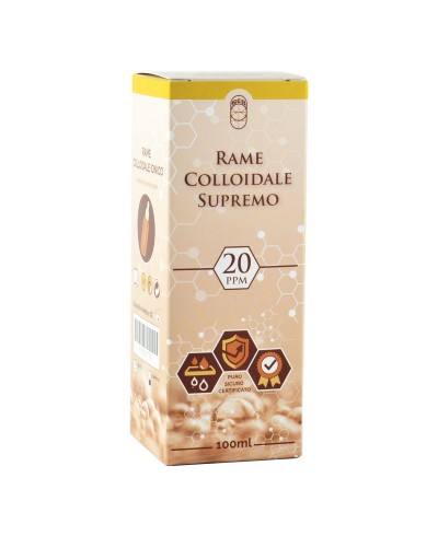 Rame Colloidale Ionico Supremo – 20 ppm 100 ml