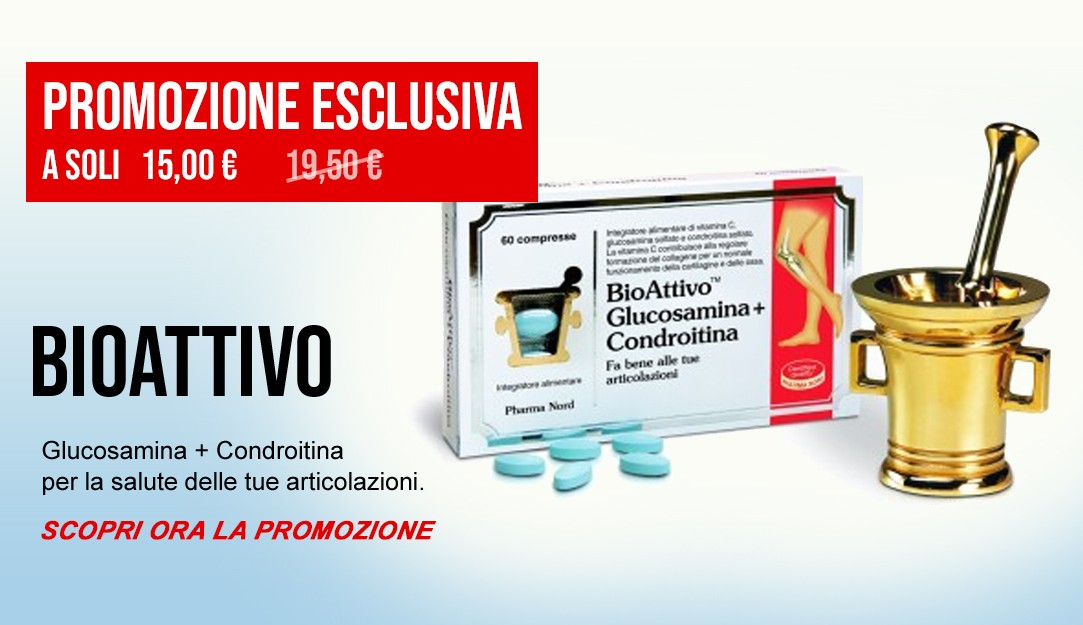 BioAttivo Glucosamina e Condroitina
