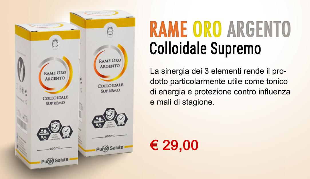 Rame Oro Argento - Colloidale Supremo
